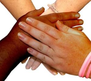 Flexofit: Hands joining together