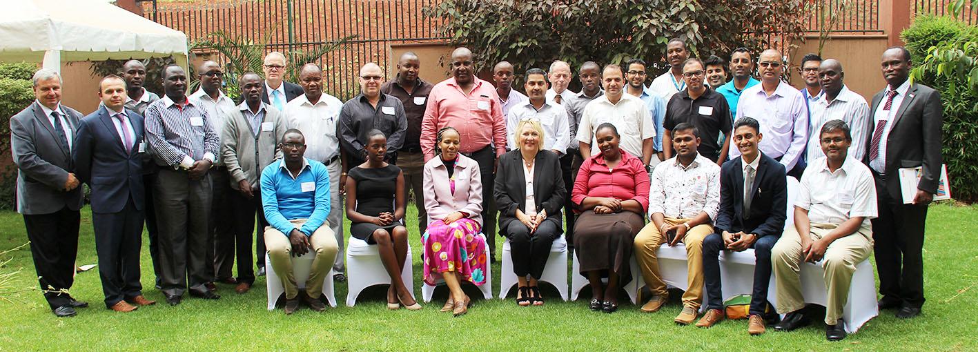 Flexofit Nairobi Gruppenfoto