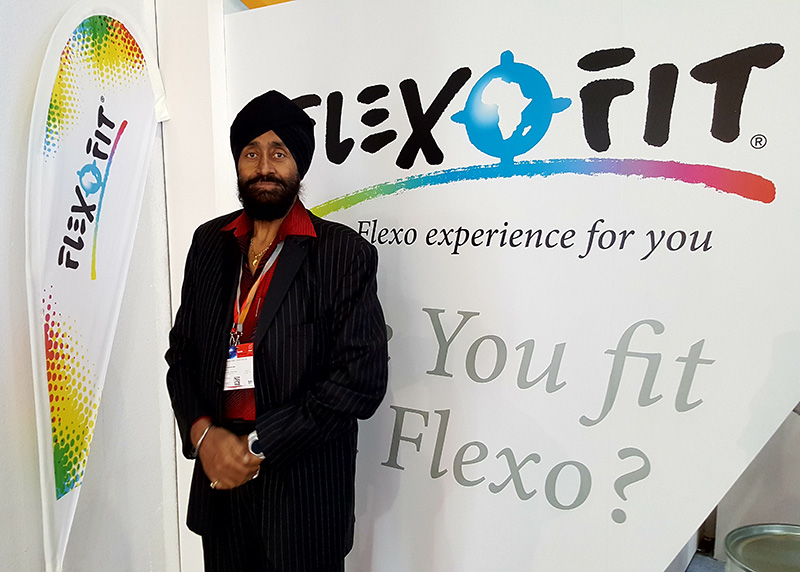 Flexofit Drupa 2016 Amarjeet