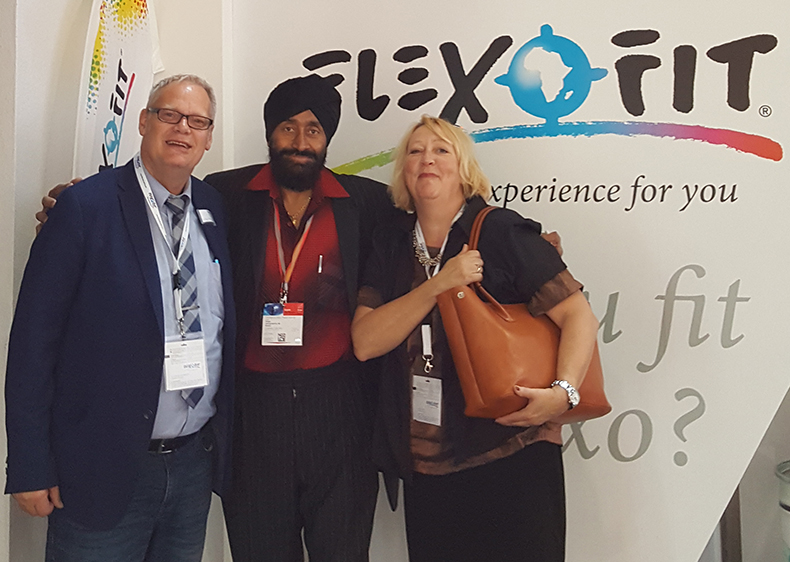 Flexofit Drupa 2016 with Amarjeet