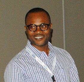 Ishmael Tetteh, company Printek, Tema, representative in Ghana