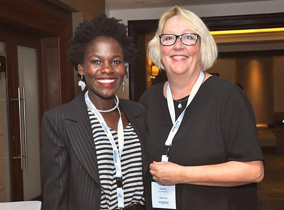 Networking at the Flexofit Uganda Seminar in Kampala