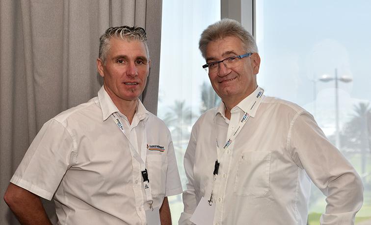 Cooperators: Floors Coetzee, Sabre Equipment SA and Alfred Porr, Renzmann Germany