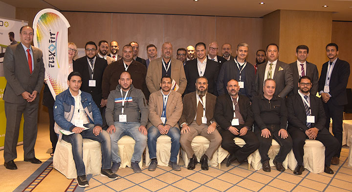 Participants at the Flexofit Egypt Seminar in Cairo