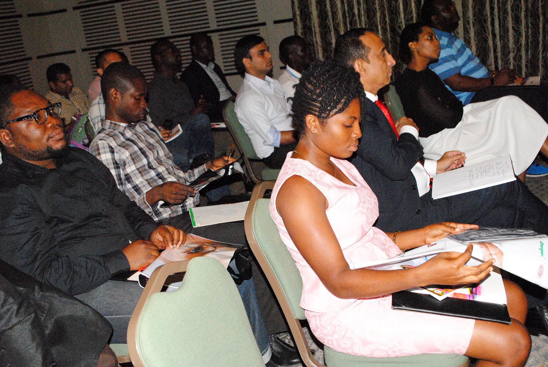 Audience at Flexofit Seminar
